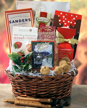 Holiday Cheer Favorites Gift Basket imagerjs