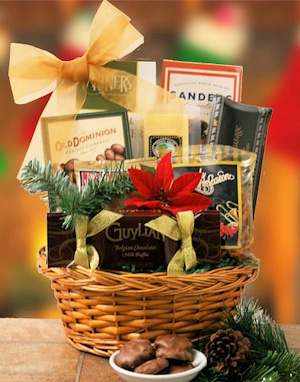 Holiday Gourmet Gift Basket imagerjs
