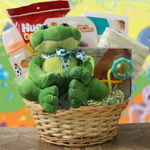 What's Hoppin Baby Gift Basket imagerjs