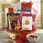 Snacking Oasis Gift Basket