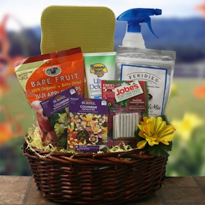 Springtime Treasures Gift Basket for Gardeners imagerjs
