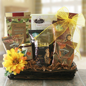 Hearty Breakfast Gourmet Gift Basket imagerjs