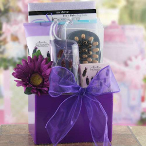 Purple Passion Spa Basket imagerjs