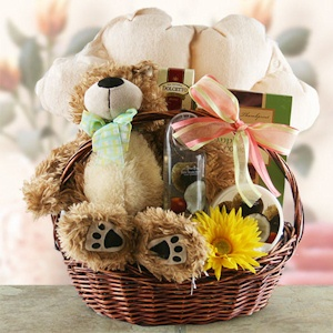 Beary Mothers Day Spa Basket imagerjs