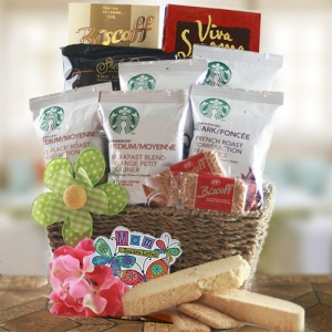 Starbucks for Mom Mother's Day Coffee Basket imagerjs