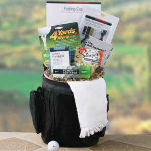 Big Bogey Golf Cooler Gift Bag of Snacks imagerjs