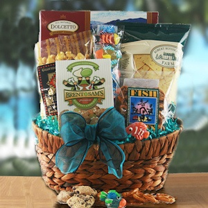 Gone Fishing Gift Basket imagerjs