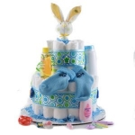 It's a Boy 2 Tier Diaper Cake