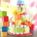 Play Time Fun Diaper Cake