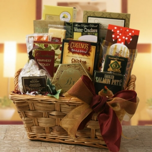 Tasteful Gourmet Greetings Gift Basket imagerjs