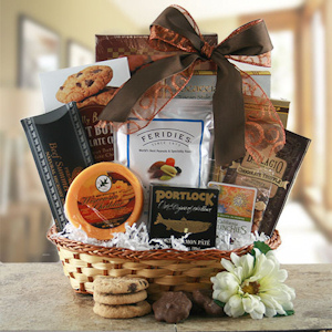 Time to Snack Gourmet Gift Basket imagerjs