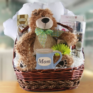 Mom is Great Gift Basket imagerjs