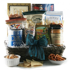 Best Dad Ever Gourmet Goodie Basket imagerjs