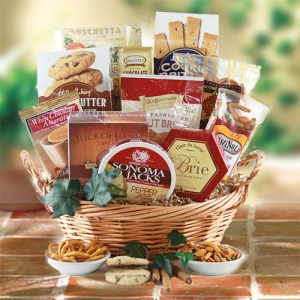Fathers Day Decadence Gift Basket imagerjs
