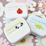 Baby Animals Personalized Favor Tins