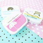 Elite Baby Designs Personalized Mint Tin Favors