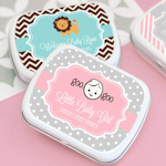 Baby Shower Favor Tins