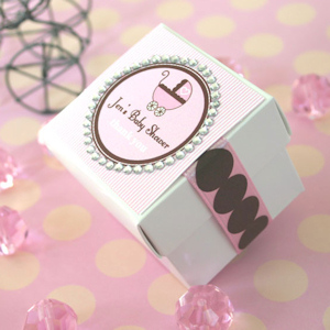 Rhinestone Border Baby Theme Tags and Labels imagerjs