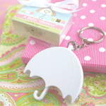 Baby Shower Umbrella Tape Measure Favor
