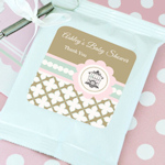 Birdcage Party Personalized Hot Cocoa Favors