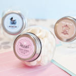Vintage Baby Personalized Candy Jars