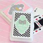 Baby Shower Personalized Playing Card Favors