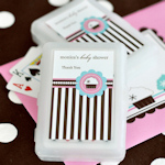 Cupcake Party Personalized Playing Cards