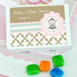 Birdcage Party Personalized Gum Boxes