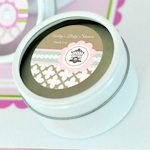 Birdcage Party Personalized Round Candle Tins
