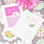 Baby Animals Personalized Seed Packet Favors