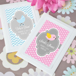 Baby in Bloom Personalized Seed Packet Favors