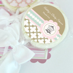 Birdcage Party Personalized Lollipop Favors