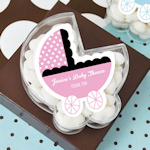 Carried with Love Carriage Favor Boxes