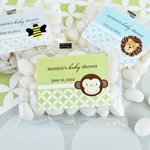 Baby Animal Personalized Jelly Bean Favor Packs