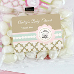Birdcage Party Personalized Jelly Bean Packs