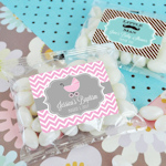 Sweet Baby Personalized Jelly Bean Favor Packs