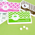 MOD Pattern Baby Mini Mint Favors