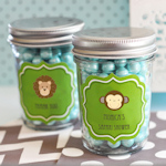 Baby Animal Mini Mason Jars
