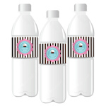 Cupcake Party Personalized Water Bottle Labels