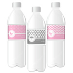 MOD Pattern Baby Water Bottle Labels