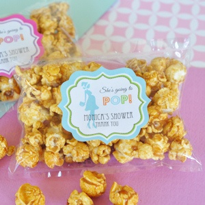 'She's going to POP' Caramel Popcorn imagerjs