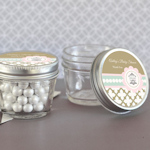 Birdcage Party Mini Mason Jars - 4 oz.