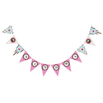 Cupcake Party Pennant Banner