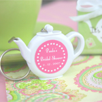 Tea Time Tape Measure Baby Shower Favors