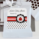 Personalized Ladybug Lemonade Baby Shower Favors