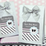 Gender Reveal Baby Shower Favor Boxes (Set of 12)