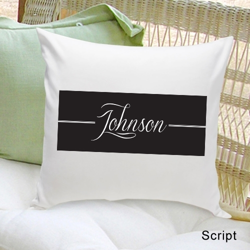 Custom Design Throw Pillows : Personalized Family First Throw Pillow (3 Designs)