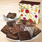 Fall Brownie Sampler Gift Box