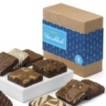 Hanukkah Brownie Sampler