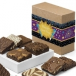 Happy New Year Brownie Sampler